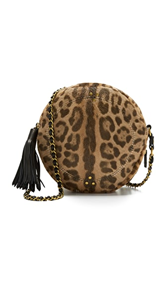 Jerome Dreyfuss Remi Circle Bag - Leopard Sauvage