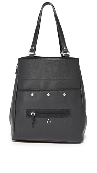 Jerome Dreyfuss Serge Shoulder Bag - Noir