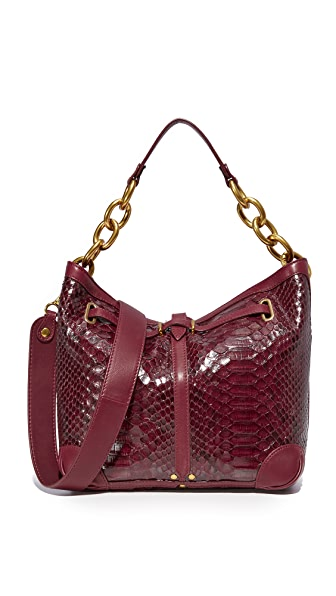 Jerome Dreyfuss Small Tanguy Hobo - Bordeaux