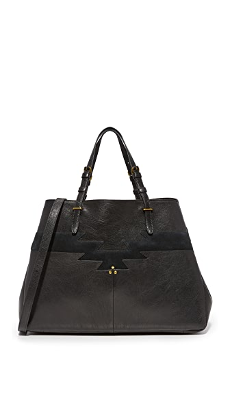 Jerome Dreyfuss Maurice Tote - Noir