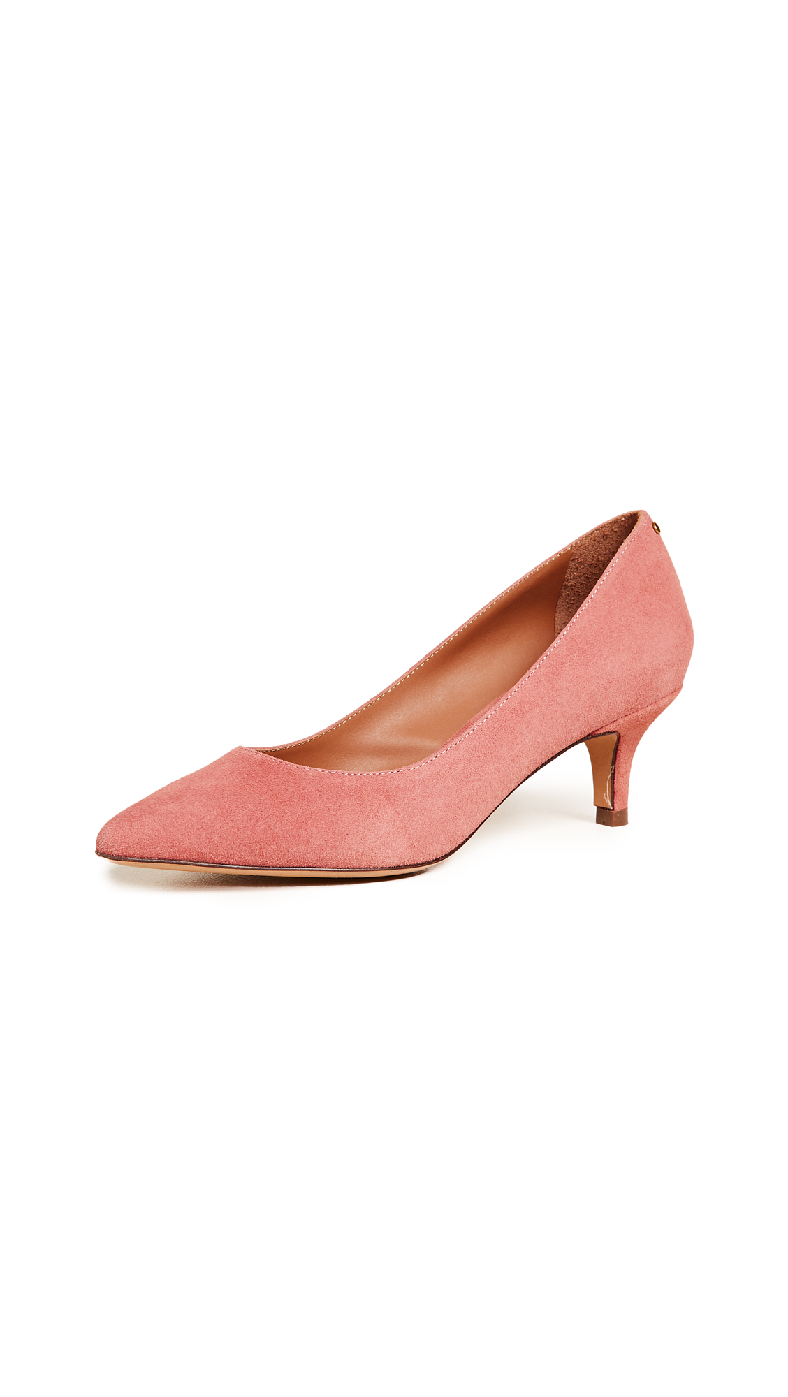 Jerome Dreyfuss Panpan 55 Pumps - Velours Rosa