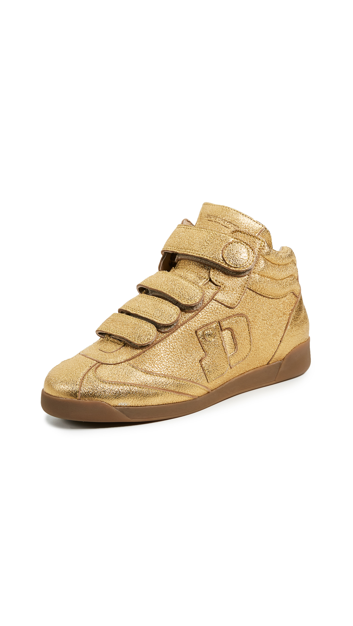 Jerome Dreyfuss Davina Sneakers - Gold Matte