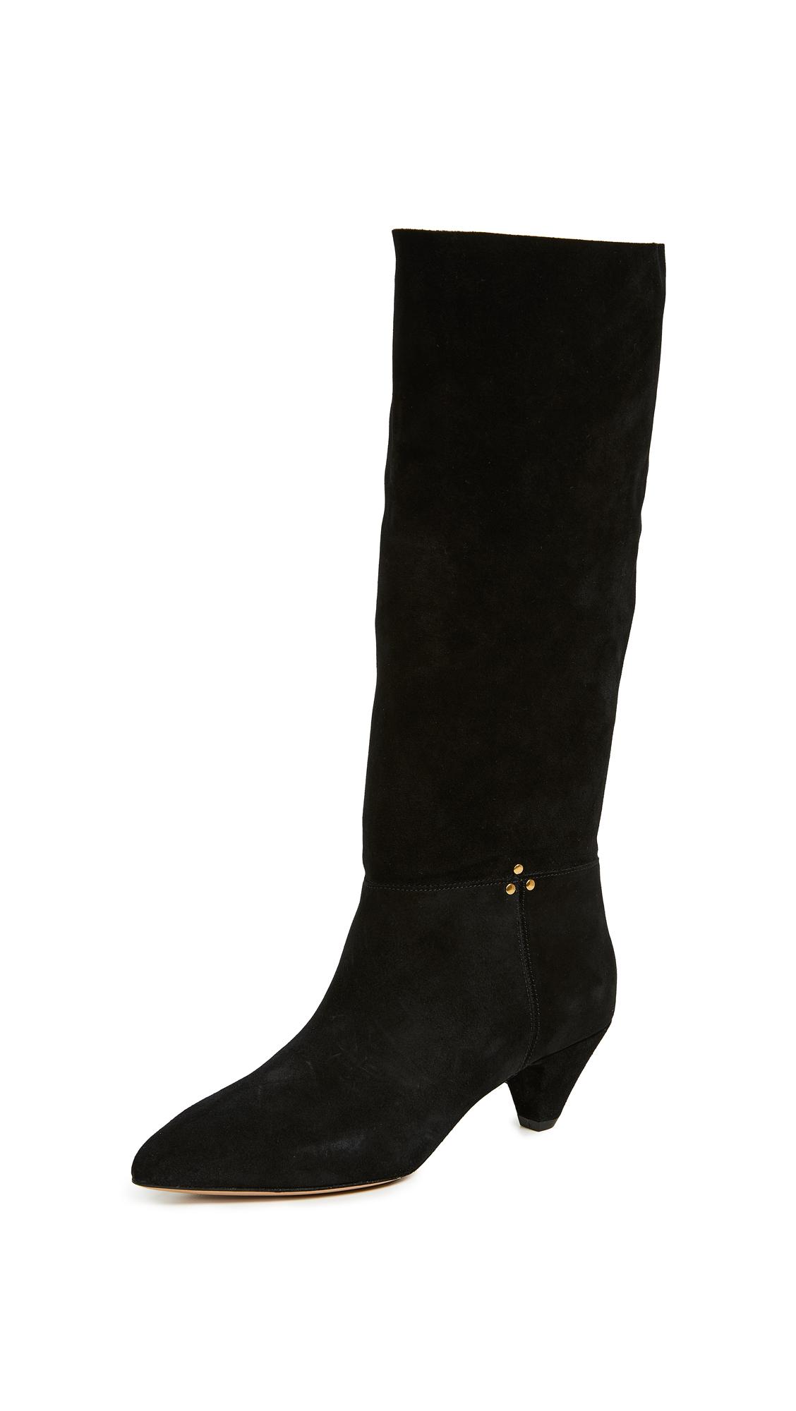Jerome Dreyfuss Sandie 50mm Boots - Noir