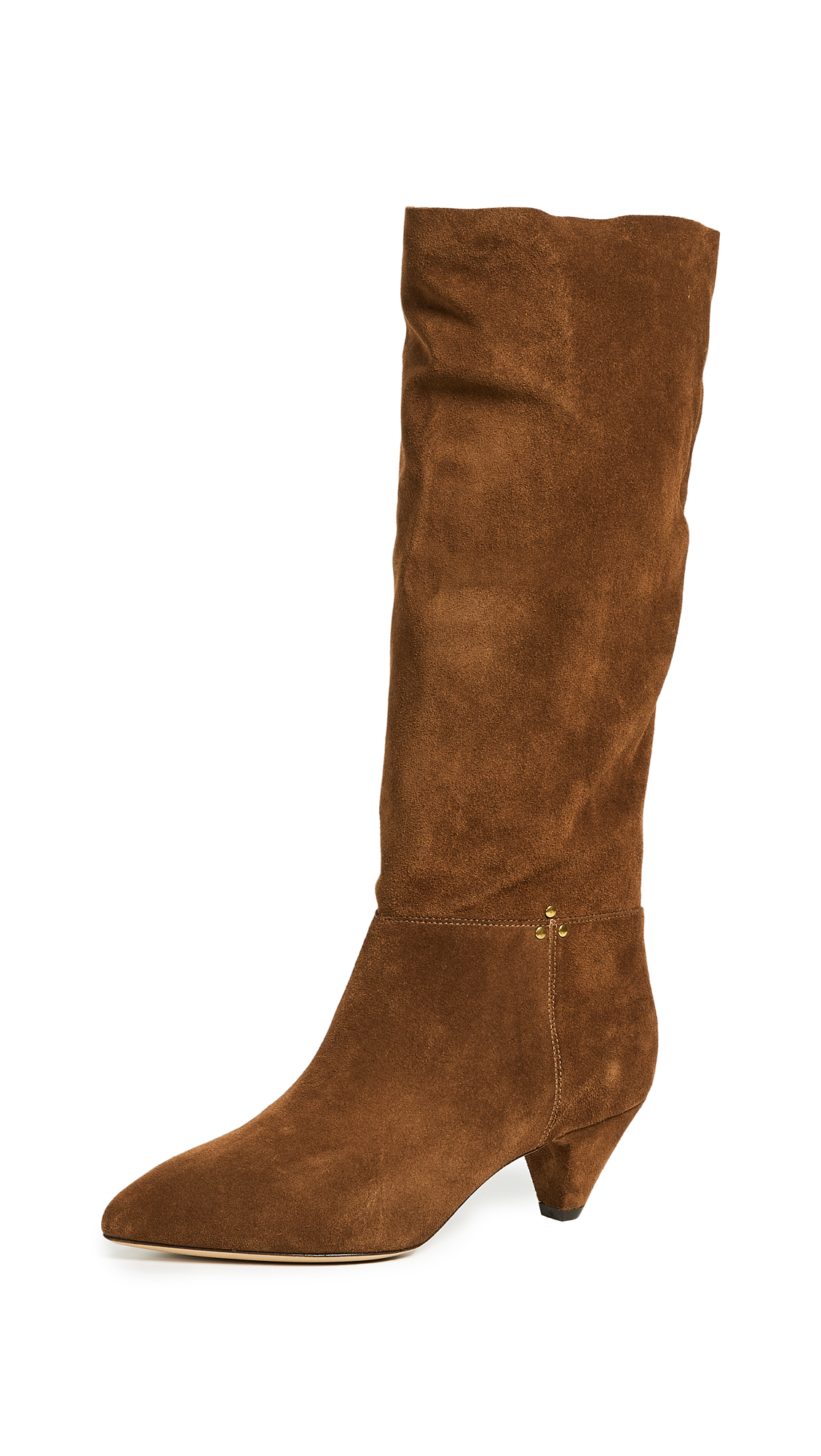 Jerome Dreyfuss Sandie 50mm Boots - Tabac