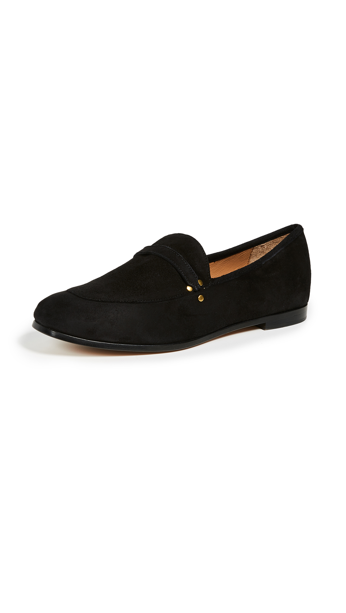 Jerome Dreyfuss Gabi Loafers - Velours Noir