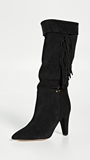 Jerome Dreyfuss Sandie 95mm 流苏靴子