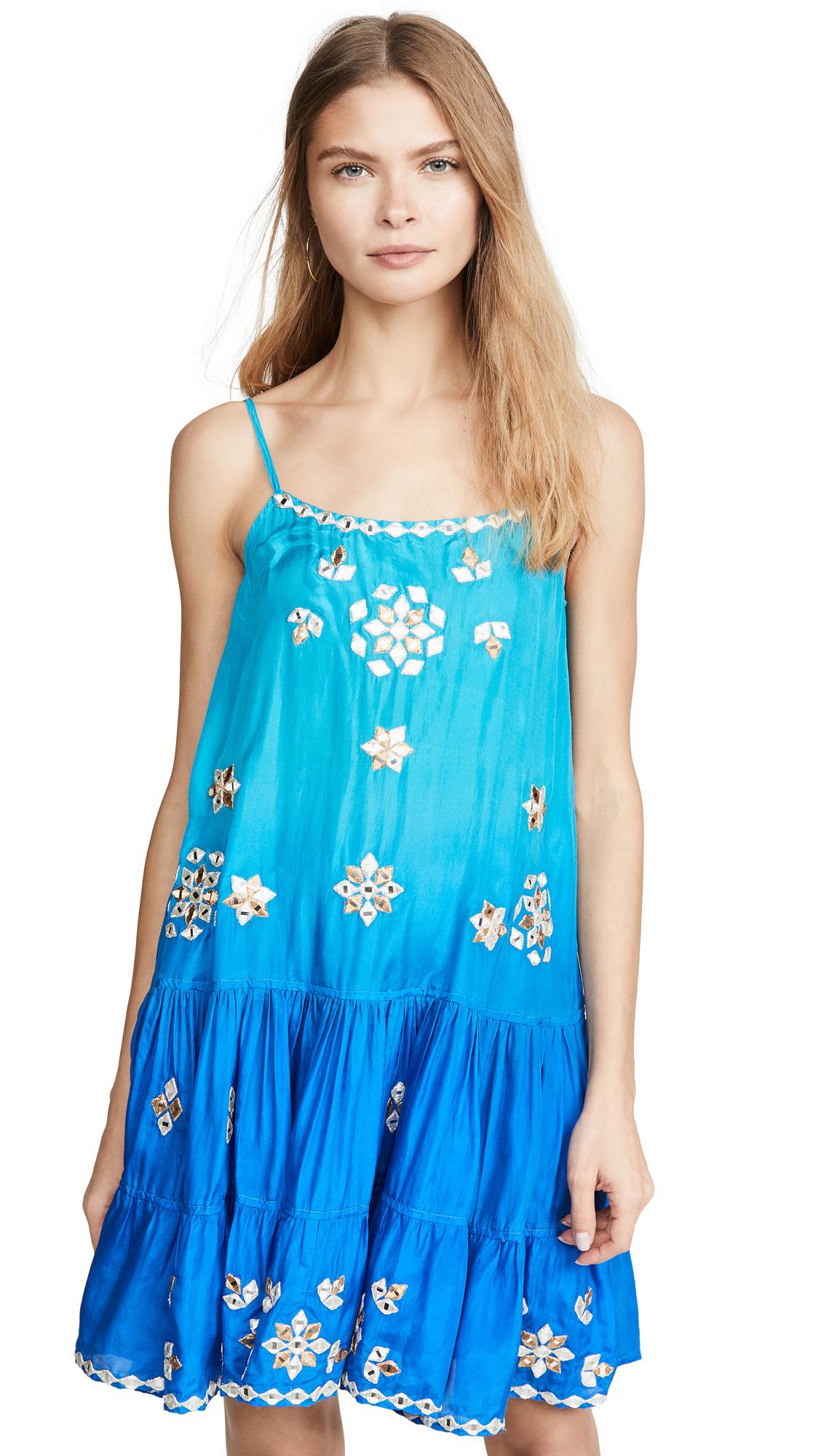 Buy Juliet Dunn online - photo of Juliet Dunn Silk Ombre Strappy Dress
