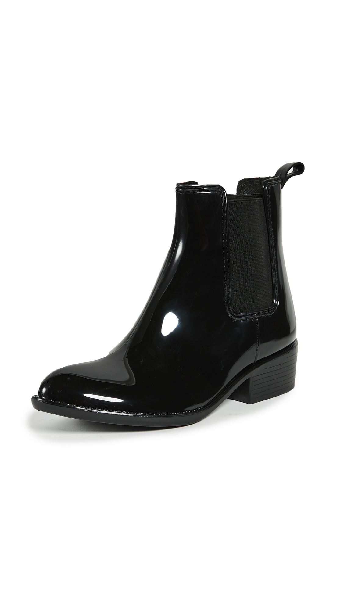 Jeffrey Campbell Stormy Rain Booties - Black