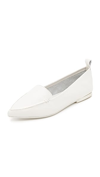 Jeffrey Campbell Vionnet Loafers - White