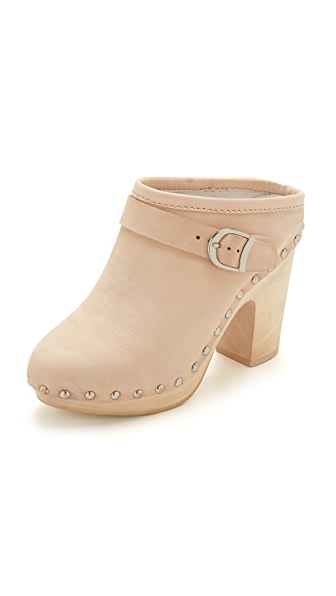 Jeffrey Campbell Charliz Clogs - Natural at Shopbop