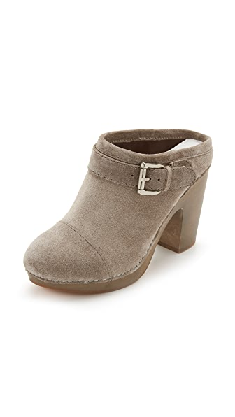 Jeffrey Campbell Charlize Clogs - Grey at Shopbop