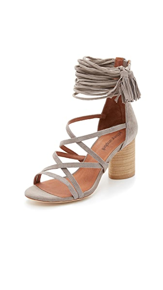 Jeffrey Campbell Despina Sandals - Taupe