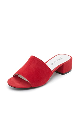 Jeffrey Campbell Beaton Mules - Red at Shopbop