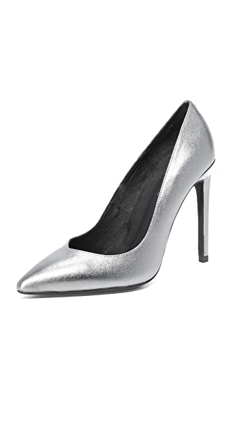 Jeffrey Campbell Plaza Pumps - Pewter