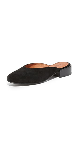 Jeffrey Campbell Mula II Slides - Black/Black