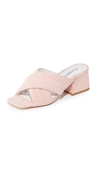 Jeffrey Campbell Berdine Mules - Pastel Pink