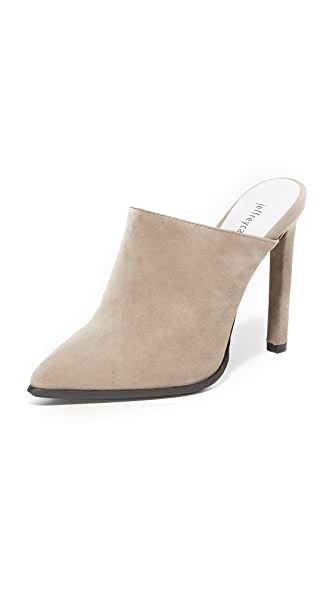 Jeffrey Campbell Palatine High Heel Mules - Grey