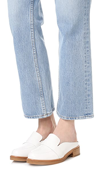 Jeffrey Campbell Keyer Loafer Mules