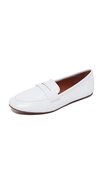 Jeffrey Campbell Maeve Leather Loafers - White