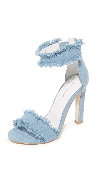 Jeffrey Campbell Inaba II Sandals - Light Blue Denim