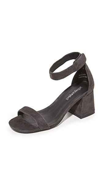 Jeffrey Campbell Fero Sandals - Dark Grey