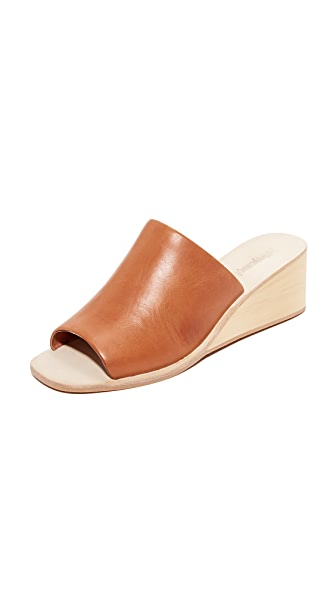 Jeffrey Campbell Willow Wedges - Tan