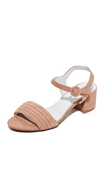 Jeffrey Campbell Faye City Sandals - Blush