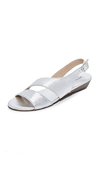 Jeffrey Campbell Ashani Sandals - Silver