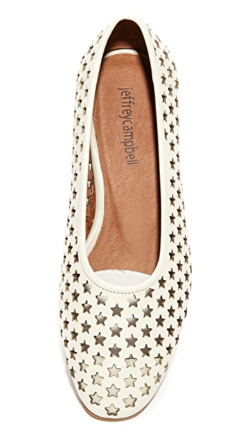 Jeffrey Campbell Luella Star Perforated Heels