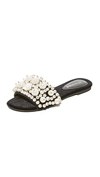 Jeffrey Campbell Facil Embellished Slides