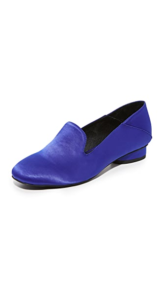 Jeffrey Campbell Symphony Step Down Loafers - Blue
