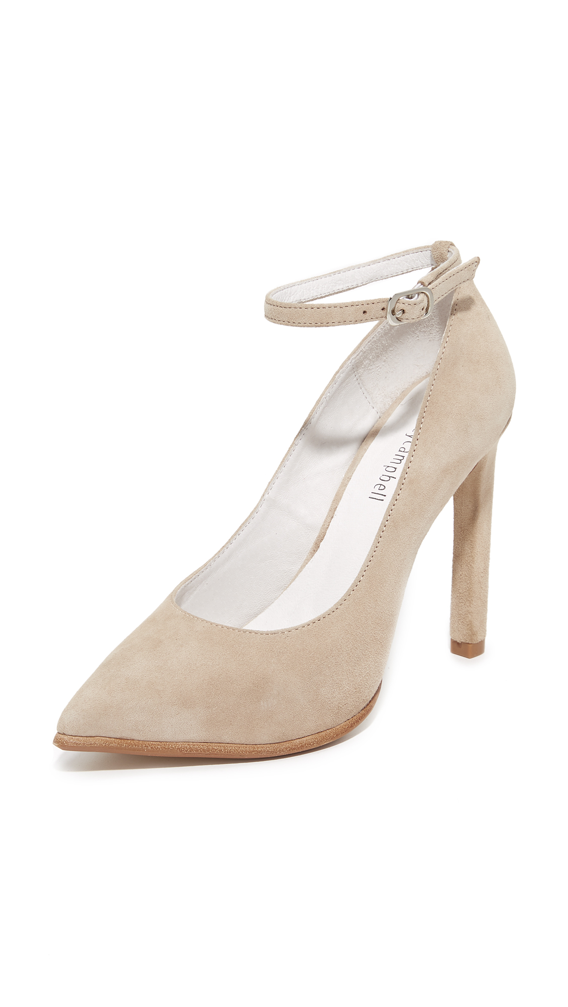 Jeffrey Campbell Lentine Pumps - Nude