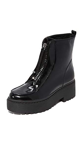 Jeffrey Campbell Tarkin Combat Boots - Black Box