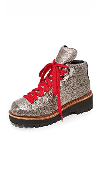 Jeffrey Campbell Explorer Boots In Pewter