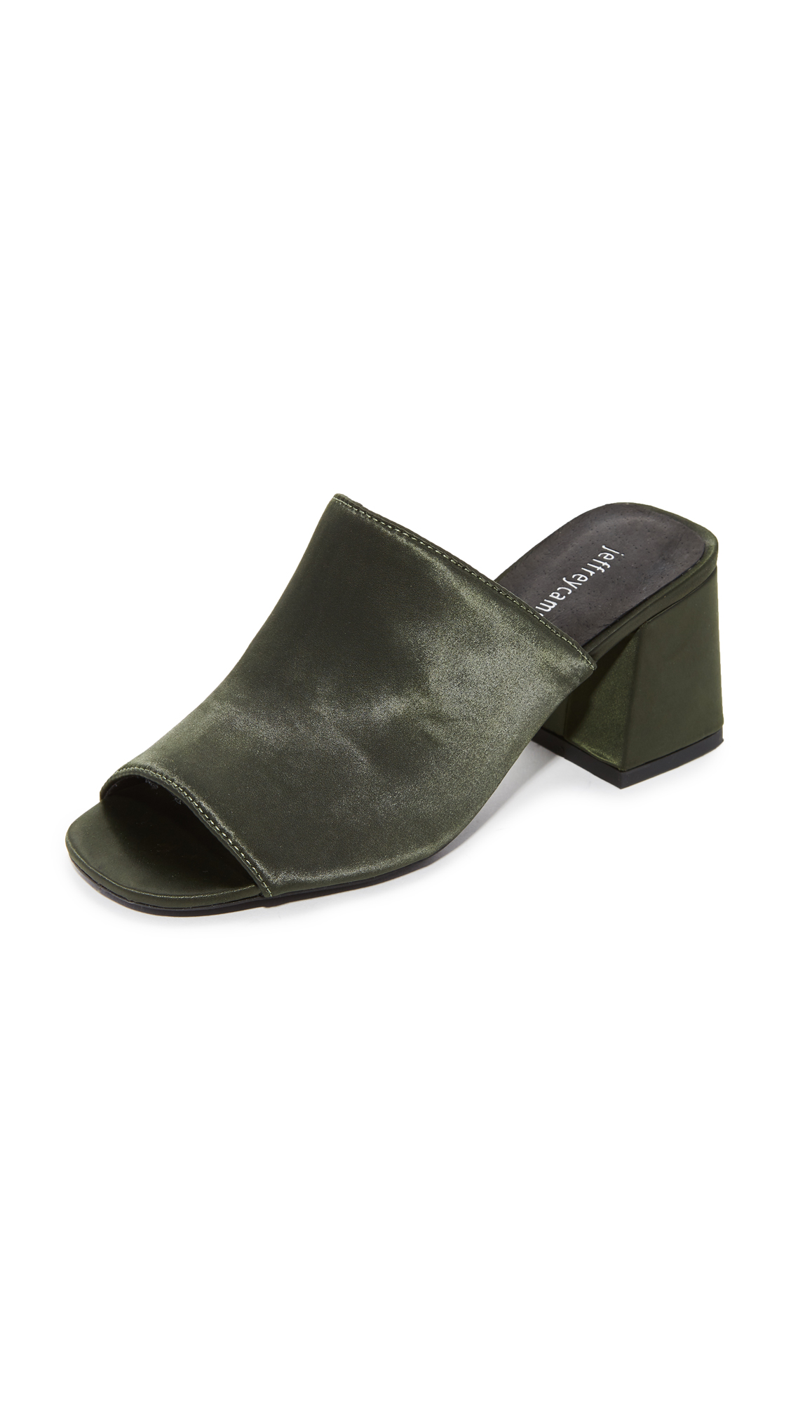 Jeffrey Campbell Perpetua Mules - Olive