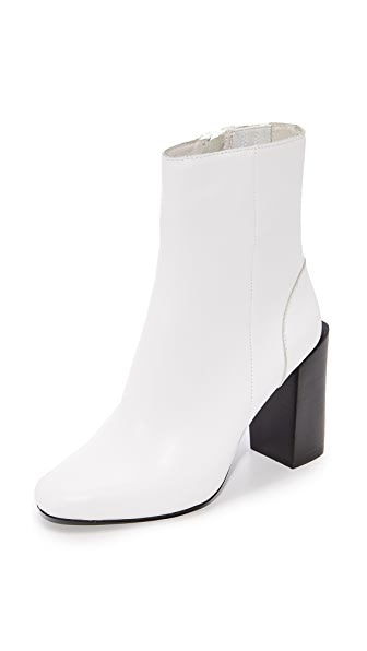 Jeffrey Campbell Stratford Stacked Heel Booties