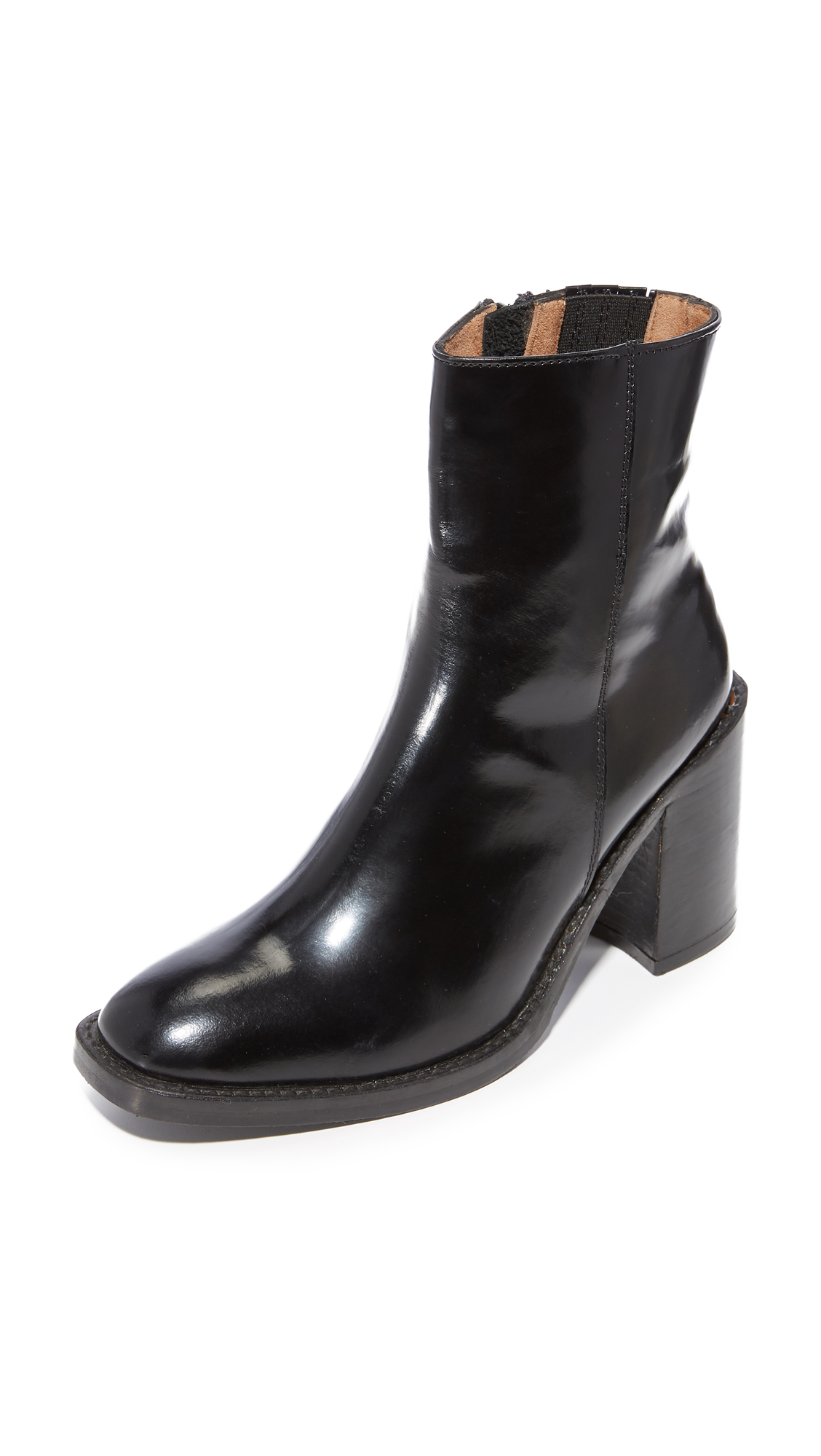 Jeffrey Campbell Shankar Classic Booties - Black Box