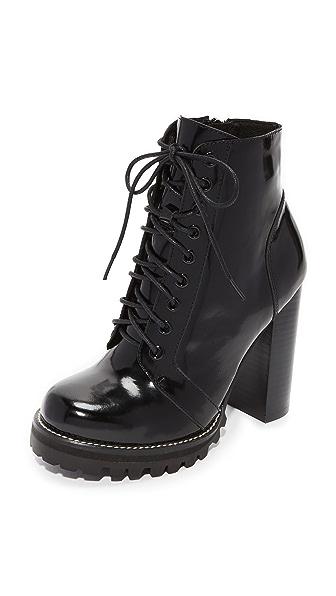 486e6a8305 Jeffrey Campbell Legion Lace Up High Heel Booties | SHOPBOP