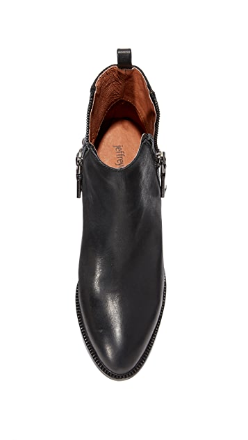 Jeffrey Campbell Boone Studded Heel Zip Booties