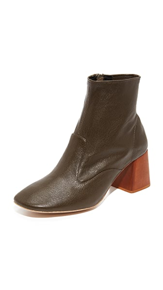 Jeffrey Campbell Kovacs Block Heel Booties