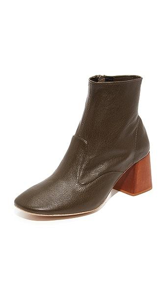 b71b347748d Jeffrey Campbell Kovacs Block Heel Booties