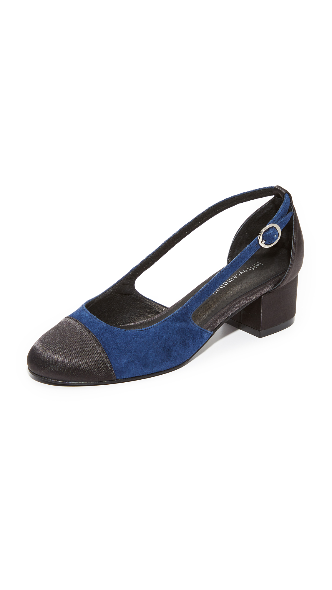 Jeffrey Campbell Tulloch Pumps - Black/Navy