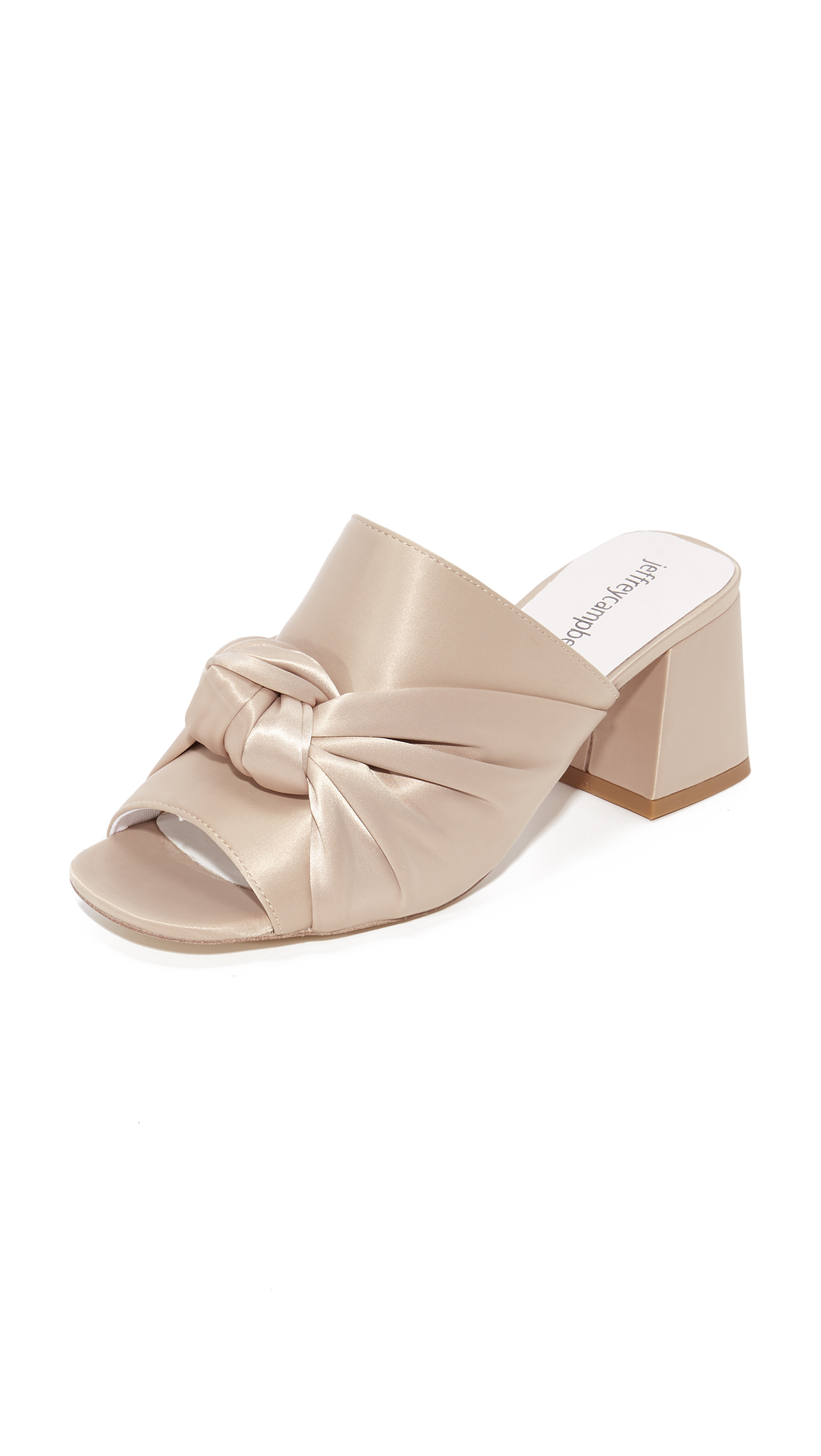 Jeffrey Campbell Onora Mules - Beige