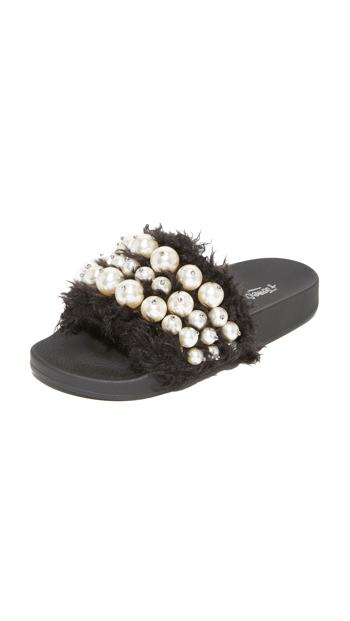 Jeffrey Campbell Pearl Sandals - Black