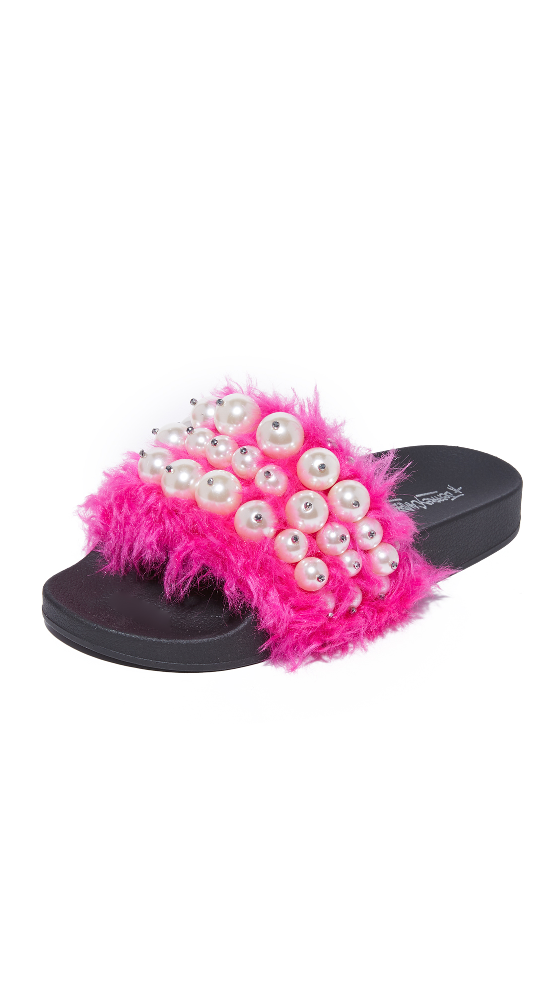 Jeffrey Campbell Pearl Sandals - Fuchsia