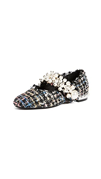 Jeffrey Campbell Irina Pearl Flats at Shopbop