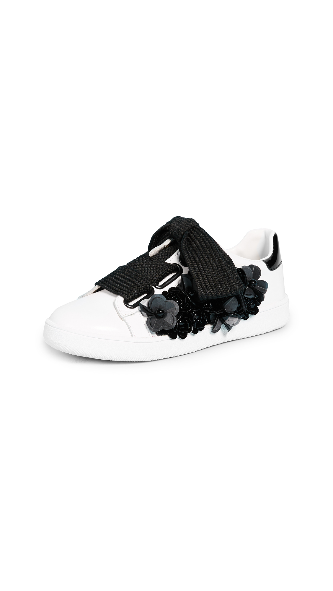 Jeffrey Campbell Pabst Sneakers - White/Black