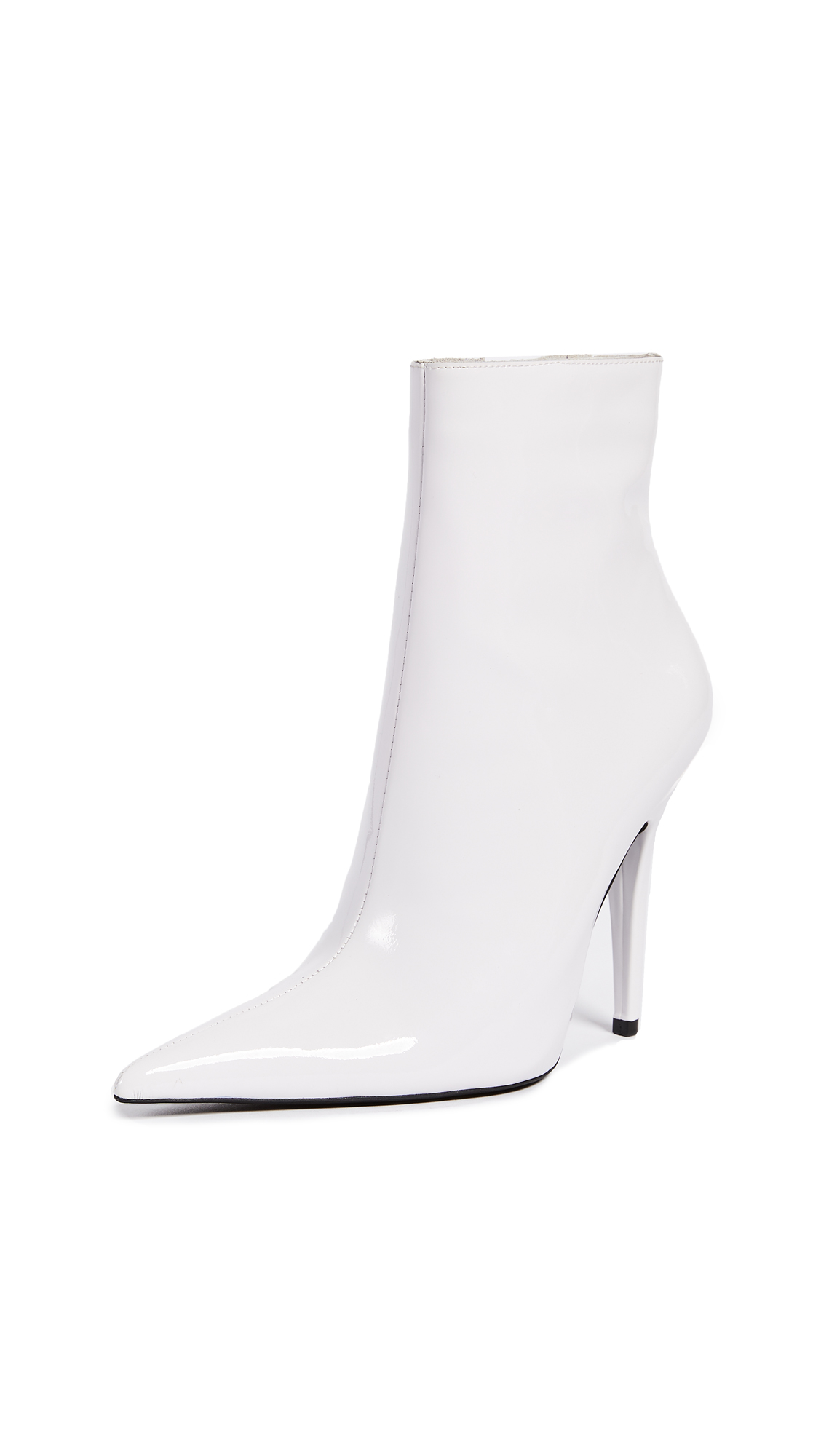 Jeffrey Campbell Vedette Point Toe Booties - White