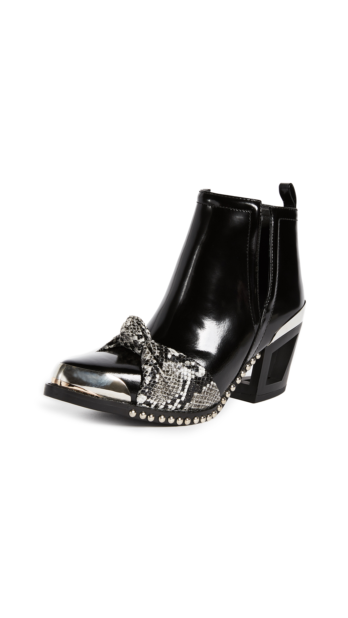 Jeffrey Campbell Optimal Booties - Black