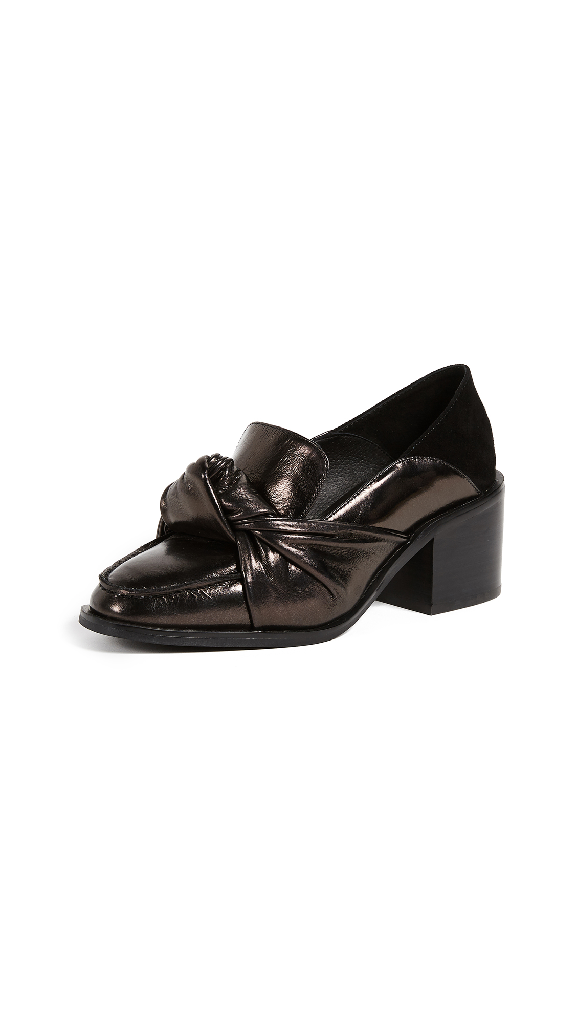 Jeffrey Campbell Bolero Pumps - Bronze/Black